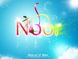 Abstract of Noor by Ultradragon