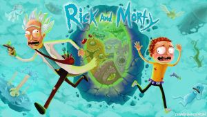 Rick and Morty by Dennis-sandstrom