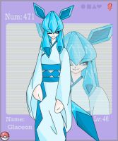 Glaceon by kikyo-elric