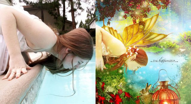 Before After Spring Fairy by Miss-deviantE