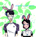 Happy Easter!! X3 by Baboushe