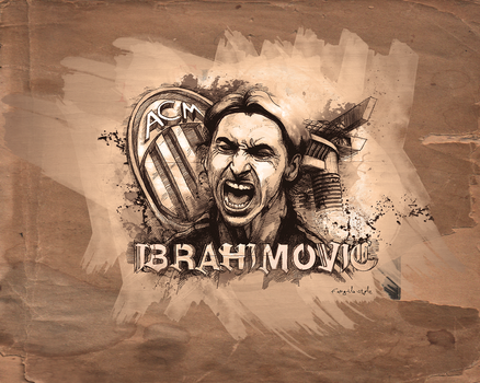 ibrahimovic by fungila