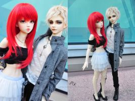 Dollmeet -London and Max by lipslock