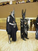 AD 2012 - The Witch-King and Sauron by The-Emerald-Otter