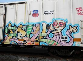 Boxcar Graffiti Number Two by BuzzyG