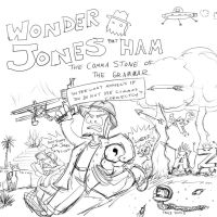 Wonder Jone Ham: The Comma Stone of the Grammar by tgwonder