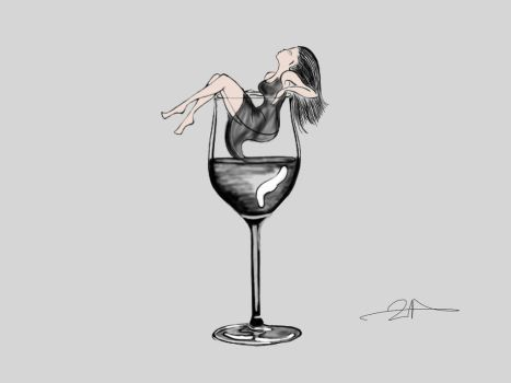 A GLASS OF LIQUID by noon7777