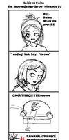 The Supposedly Murderous DS by waterbender-chan