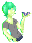 Slime Babe by SpaceyJessi