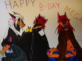 Meg's B-Day Card by Kcook6