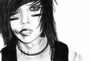 Andy (Six) Biersack by bloodpressures