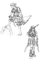 Sid'her Hunters by EfrieredNihil