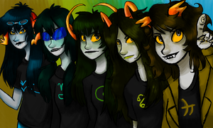 Girl fantrolls by Magdaleen-96
