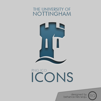 The University of Nottingham Icon by musedmoments