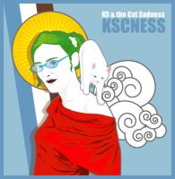 Ks and the cat Sadness by kscness