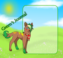 .:Journal Skin Commission:. Reaper-Green by Korollily