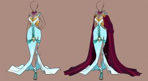 Fashion Adoptable Auction 10 - CLOSED by Karijn-s-Basement