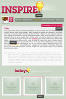 Project Inspire CSS design by Ikue