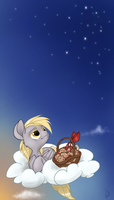 Enjoying Muffins by Zoithedragon