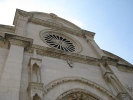 The cathedral in Sibenik. by XPurebloodPrincessX
