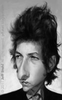 Bob Dylan by JeffStahl