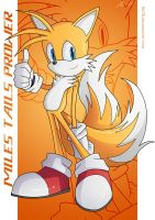 "Miles ""Tails"" Prower :Poster: by moxie2D"