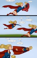 Supergirls vs Mr Ninja pg 31 by LexiKimble