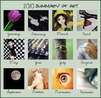 2010 Summary of Art Meme by onnawufei