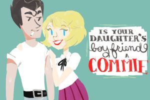 is your daughter's boyfriend a commie? by silvershadowhdgehog