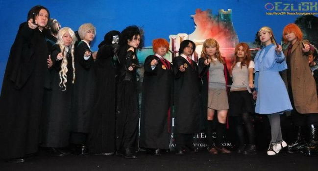 HP:: Deathy Hallows2 Premiere by potter87