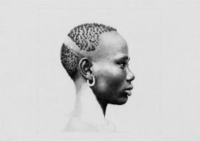WIP - African Girl II by NorthumbrianArtist