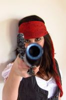 Mrs Sparrow, gun 3 by elodie50a
