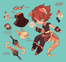 Sona mini sheet: JEUL by mowtei