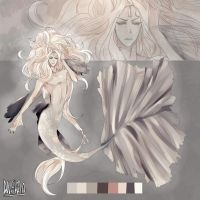 Adoptable Auction Closed- Merman by Danny-chama