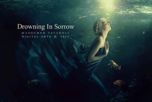 Drowning in sorrow by DigitalDreams-Art