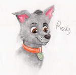 Rocky Doodle by OfficialSassy