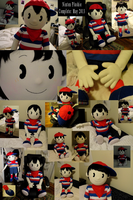 Ultimate Ninten Plush Doll by Feathery-Wings