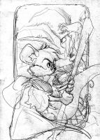 Cover Sketch My Time With Clive #1 by JDCalderon