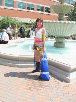 A very cute Yuna Cosplayer by smithers456