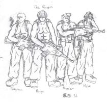 the Rouges by murader191