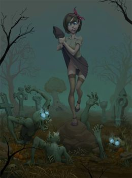 Cemetery by glooh
