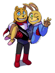 FNAF World - We're the Great (OTP 7) by Atlas-White
