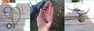 Supernatural Dean Winchester Amulet Necklace by Tsurera