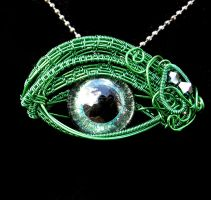 Entwined Soul - Storm through the Vines Pendant by LadyPirotessa