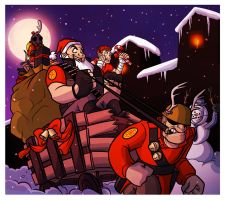 Payloads of Holiday Cheer by OhSadface