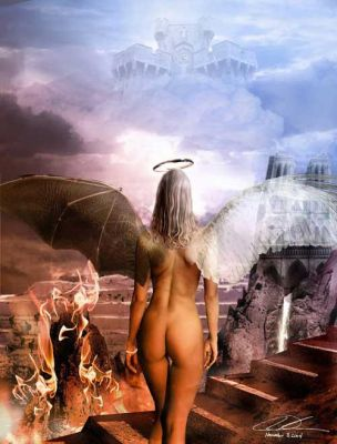 Heaven and Hell by mineh