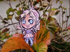Within the colorful leaves by Warriocat12