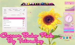Cursor Buho Pink by leyfzalley