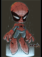 Lil Spidey by RedJ by soulrailer
