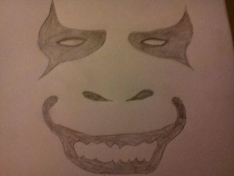 Just a face I drew. by AssaultBadger